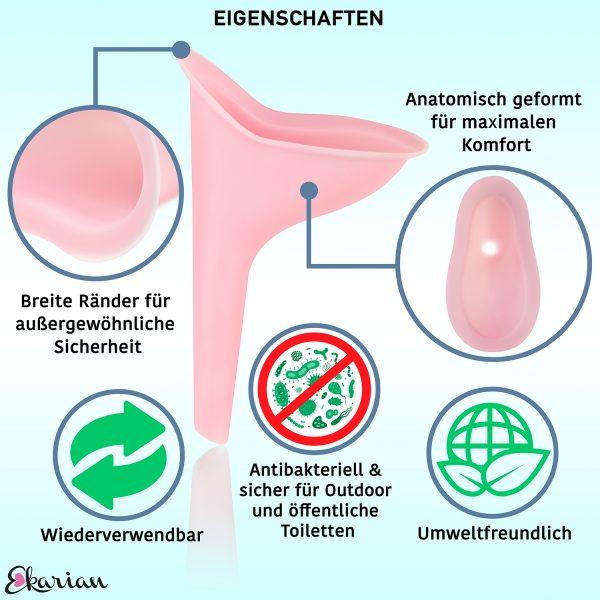 Ekarian Urinierhilfe Urinella